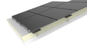 Jual Solar - Zonnepanelen op schuin dak met dakbedekking - geisoleerd betondak