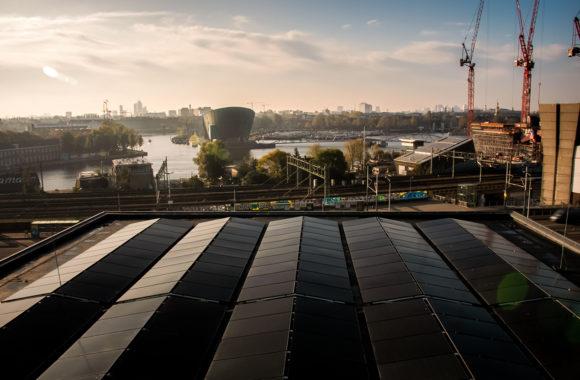 Jual Solar - Ballastvrij montagesysteem - Muziekgebouw Amsterdam