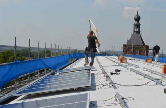 Jual Solar montagesysteem - Zonnepanelen op rond dak