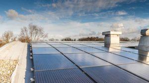 Jual Solar - Zonnepanelen op schuin dak met bitumen, epdm of pvc