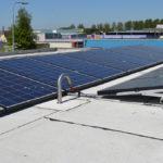 Jual Solar - Ballastvrij montagesysteem - Zonnepanelen op plat bitumen dak - Staal dak met isolatie - Lichte dakconstructie
